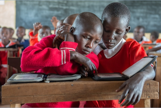When kids in Africa head back to school, they'll find even more books to fall in love with on their Kindles.