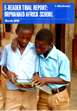 Cover of Worldreader's E-reader Trial Report