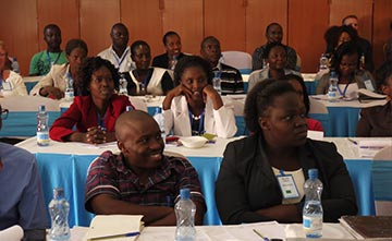 Attendees at the 2014 Worldreader Community Conference