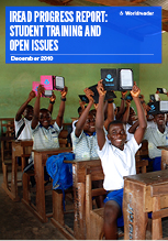 Cover of Worldreader's iREAD Progress Report