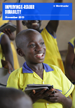Cover of Worldreader's Improving E-reader Durability