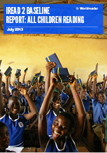 Cover of iREAD 2 Baseline Report