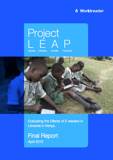 Worldreader Project LEAP Report