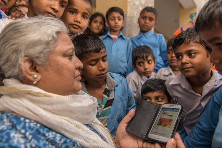 read to kids india worldreader and pearson
