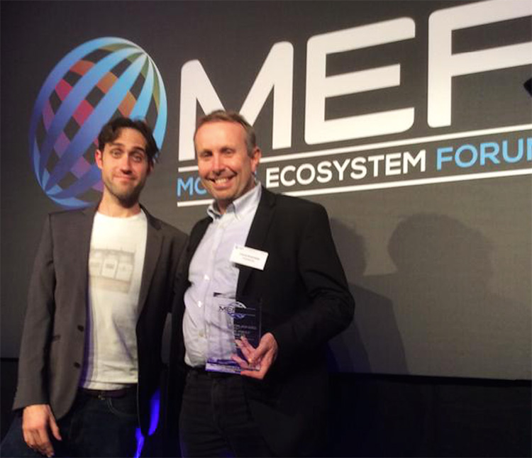 co-founder of Worldreader receives our Meffy awards