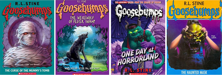 Goosebumps series with Humble Bundle