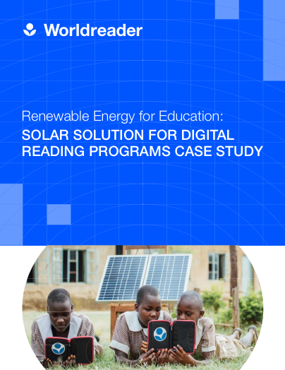 Solar Solution for Digital Reading Report.
