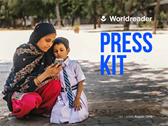 Cover of Worldreader Press Kit