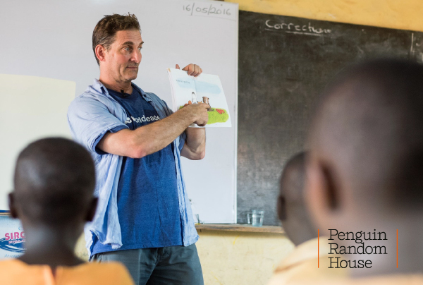 Tad hills visits a worldreader school in africa