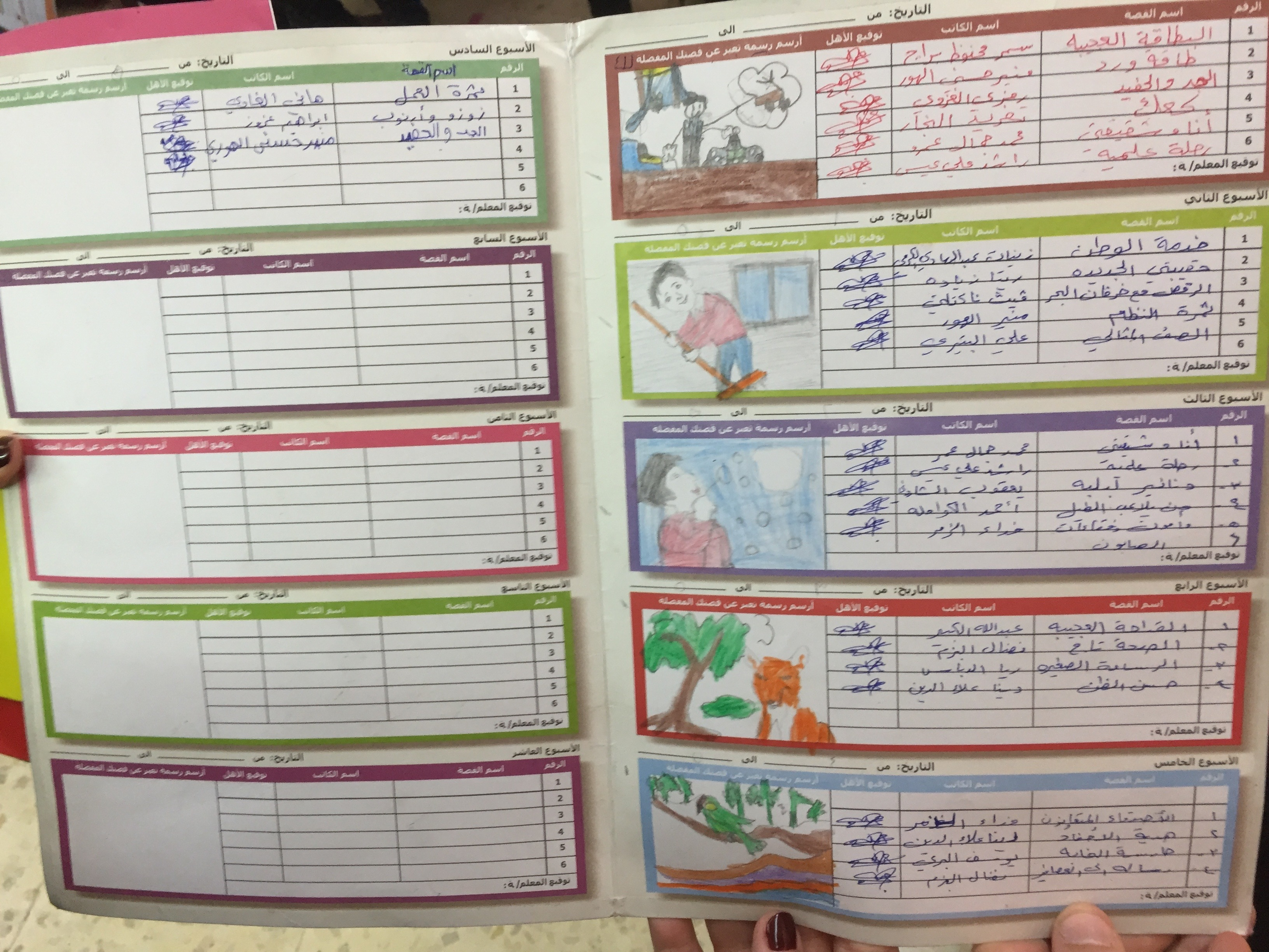 worldreader kids in jordan literacy