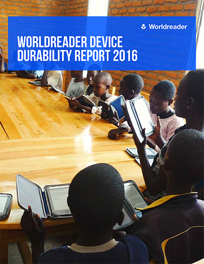Device Durability Report cover
