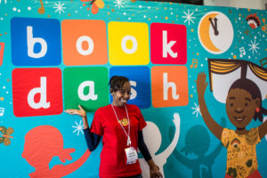 collaboration at book dash in south africa with worldreader