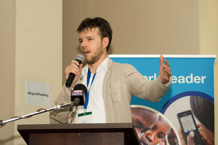 mark west at the worldreader digital reading summits 2017