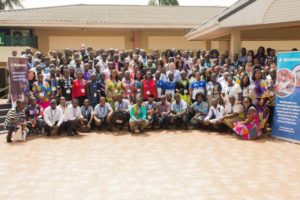 group photo west africa digital reading summit worldreader 2017