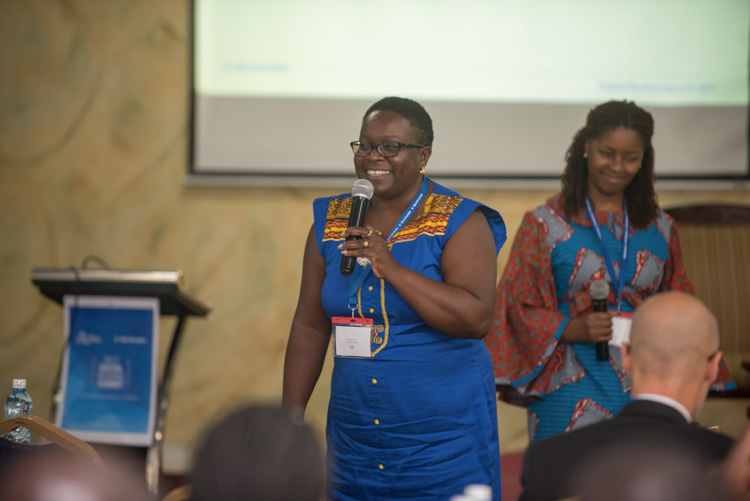 Joan Mwachi (left) and Carol Williams, Worldreader's East and West Africa Directors respectively