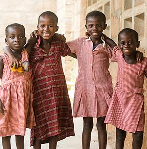 Girls in ghana