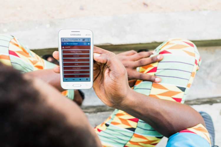 Worldreader mobile app