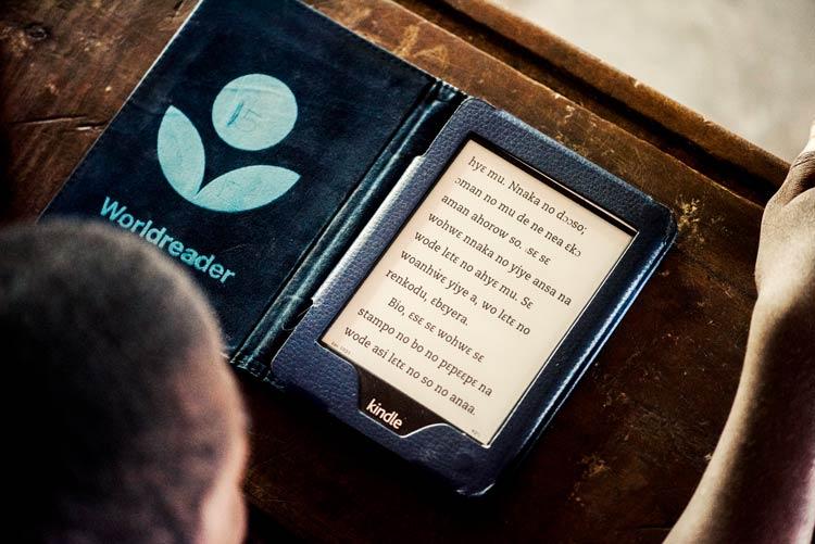 worldreader kindle digital reading