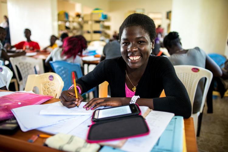 digital reading libraries kenya