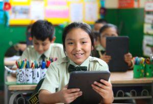 student peru worldreader digital reading education tech