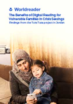 The Benefits of Digital Reading for Vulnerable Families in crisis Settings